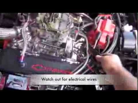 How To Set Initial Timing and Total Advance Timing on 350 SB Engine By Corvette Hop