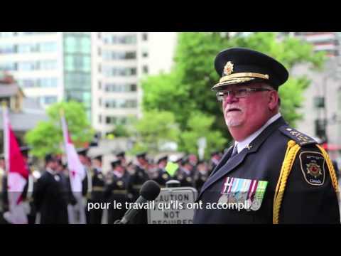 Freedom of the City ceremony, Kingston Ontario