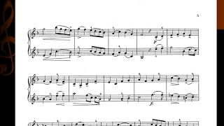 F Mazas Douze Petits Duos No. 1:  2nd Movement - Romance