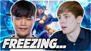 LS Goes Off on TL Impact About Freezing!!! - LoL Daily Moments