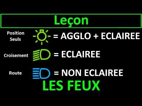 Code De La Route Leçon #2 - Les Feux