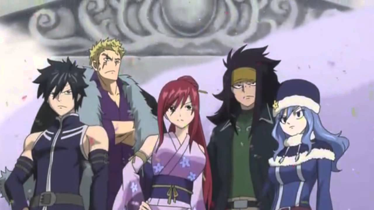 Fairy tail - funny and sad moments 2014
