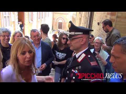 Alessandra Mussolini a Macerata
