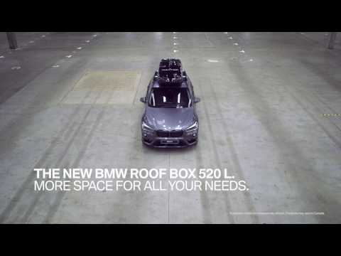 BMW Roof Box - BMW Original Accessories