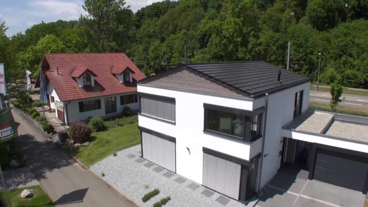 Lehner Haus Musterhaus in Ulm beim Messegelände - YouTube
