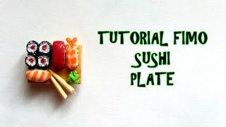 Tutorial fimo SUSHI  (Polymerclay tutorial sushi plate)