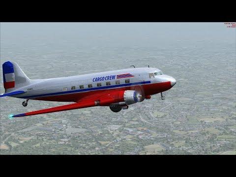 FSX/Flight Simulator X Cargo Crew Mission Pack: 13 Shanghai to Taipei