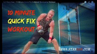 Express Kettlebell BootCamp Workout