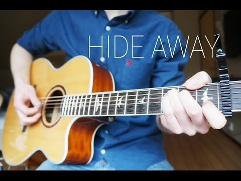 Daya - Hide Away - Guitar Cover | Mattias Krantz