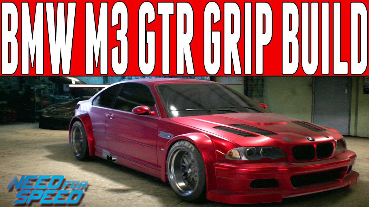 Need For Speed 2015 Grip Build 700hp Bmw E46 M3 Gtr Racing Magnus S Record