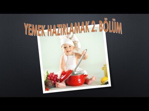 Yemek Hazırlamak kelimeleri Arapça Türkçe  2. Bölüm /إعداد الطعام الحلقة الثانية