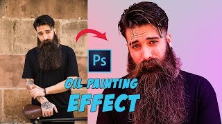 How to Turn Photo to Oil Painting Effect (Without Oil Filter) | Photoshop Tutorial