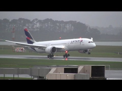 LATAM Airlines► Boeing 787-9 Dreamliner ► Landing ✈ Auckland Airport
