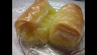 """Греческая кухня -  """"Галактобуреко"""" (молочный  десерт с тестом фило)"""