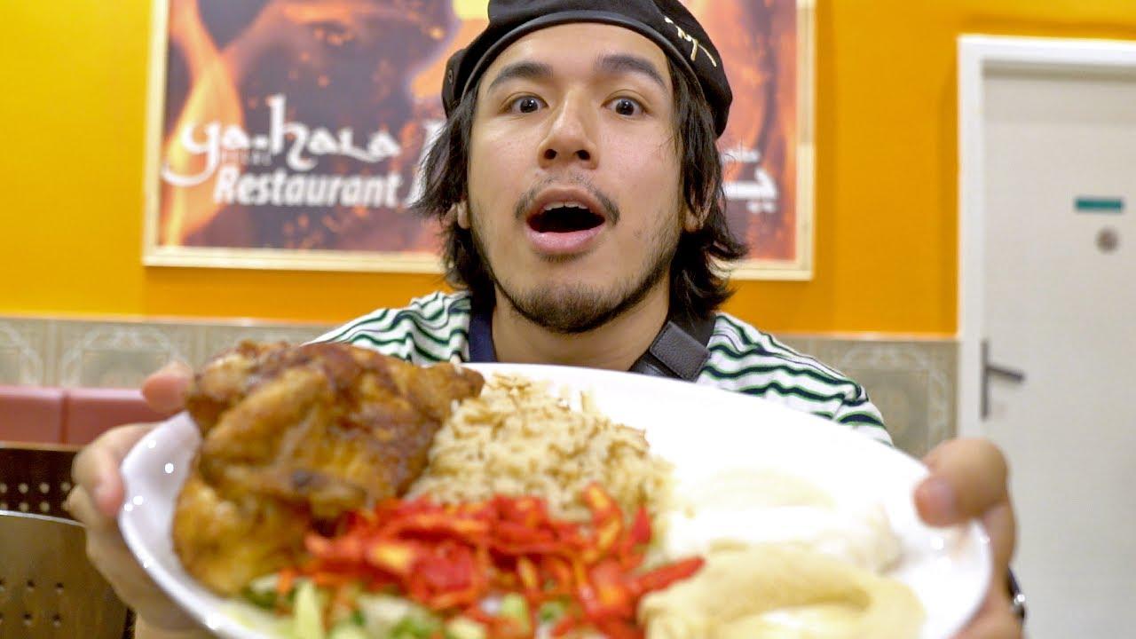 Broiler/Hendl/Halbes Hähnchen in Arabisch ist echt anders heftig