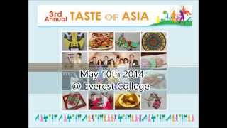 3rd Annual 'Taste of Asia' Recap Video