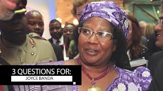 Former President of Malawi Dr. Joyce Banda Talks Female Empowerment and Her Personal Journey