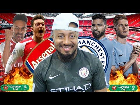 Arsenal vs Manchester City: EFL Cup Final Prediction, Head to Head,Team News, Line Ups