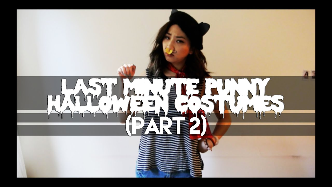 last minute punny halloween costumes (part ii) - youtube