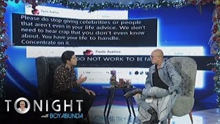 TWBA: Paulo says that he didn't want to be famous