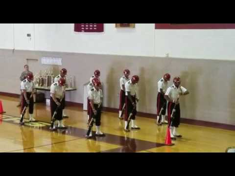 Union High School JROTC, Armed Exhibition Drill