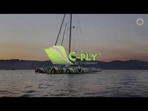 Video: Rapido Trimaran uses C-Ply carbon fibre in construction