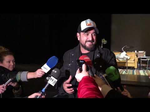 Antonio Orozco se declara enamorado de Ceuta en su parada de la gira Único