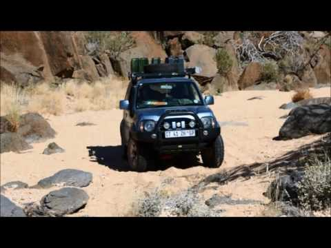 Jimny Adventures Namibia trip Jun Jul 2015
