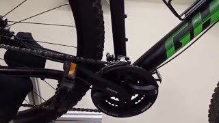 "GHOST Tacana 2 2016 29"" Twentyniner Black-Green 50cm Hardtail"