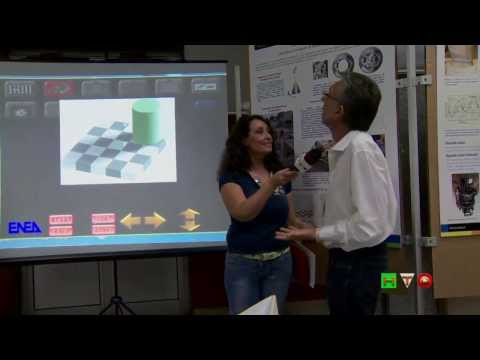 ENEA - La Notte Europea dei Ricercatori - Anamorfosi - www.HTO.tv