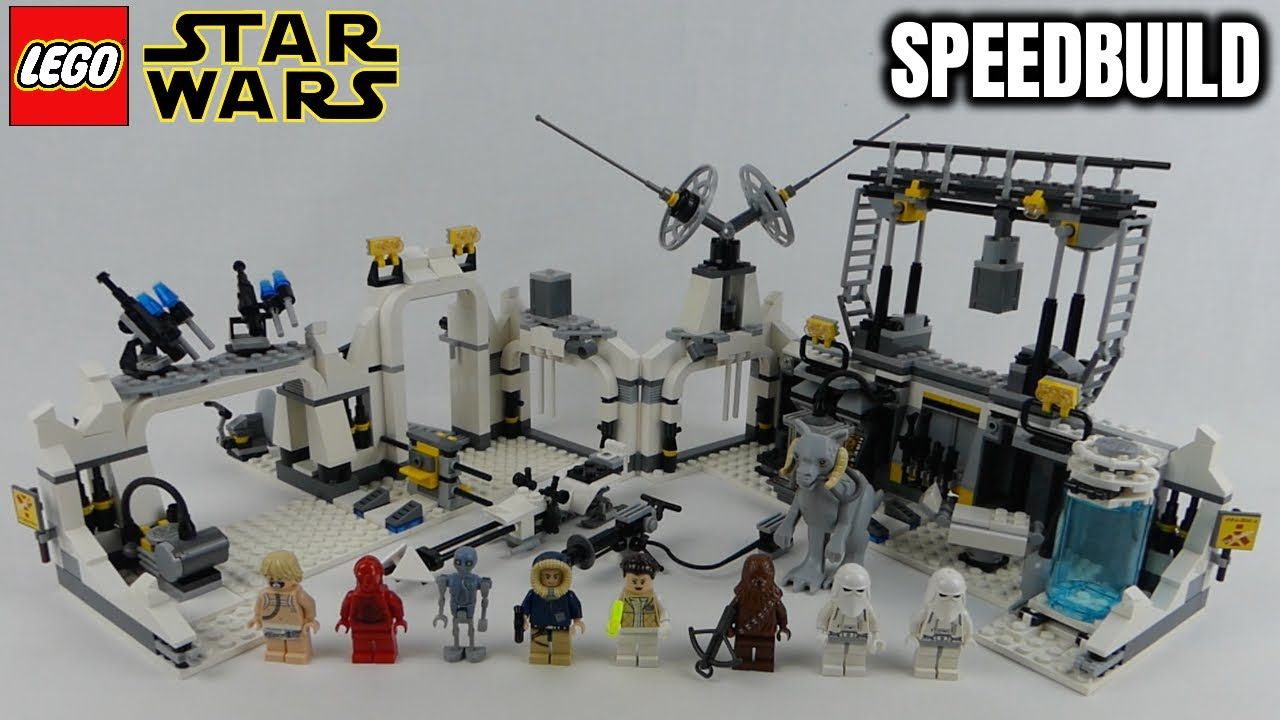 "LEGO Star Wars ""Hoth Echo Base"" (7879, exclusive set) from 2011 