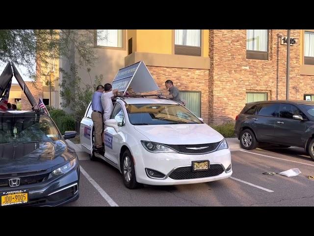 16 紐約車隊到鳳凰城圖森Endccp car  parade in Phoenix  Tucson in Arizona 1082021
