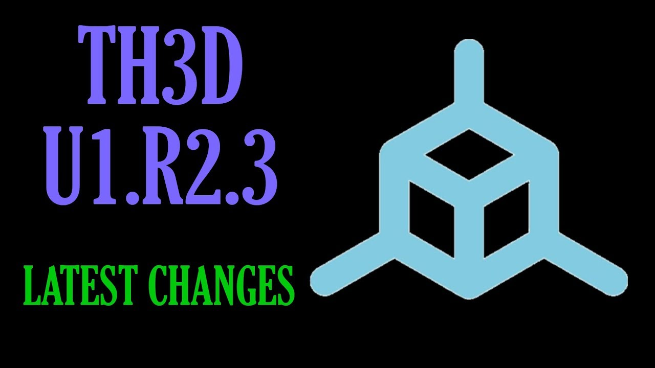 TH3D Unified Firmware U1 R2 3
