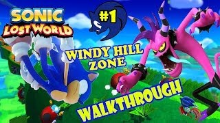 ABM: Sonic Lost World (Sonic Gangs) Windy Hill Walkthrough #1 HD