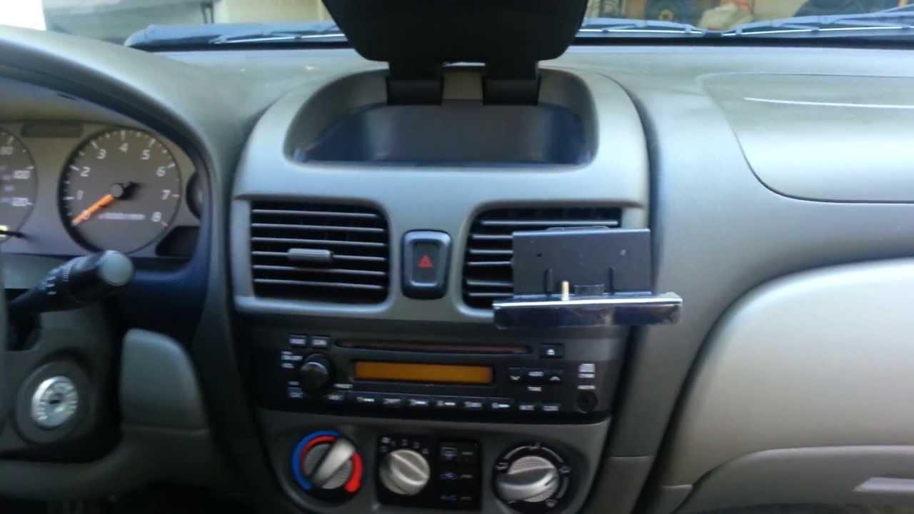 2001 nissan sentra car stereo radio wiring diagram john deere d140 removal youtube
