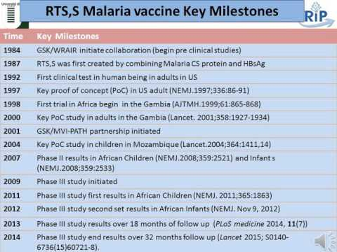 RTS,S age de-escalation studies and challenges of paediatric vaccine trials in LMIC - N. Salim