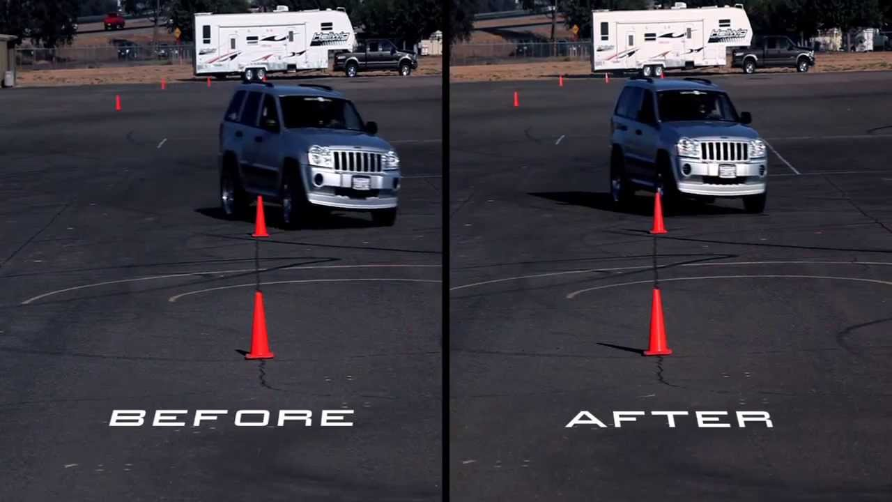 Hellwig Jeep Grand Cherokee 2005 Before And After Off