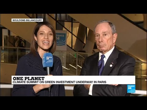 """Michael Bloomberg on climate change: """"If Trump doesn't look at the data, we'll do this without him"""""""