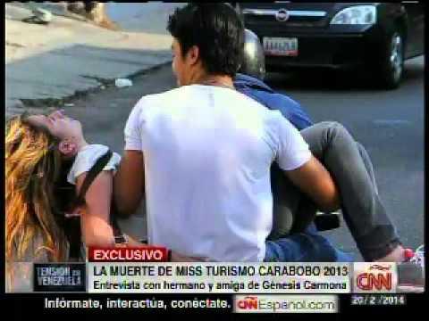 Familiares de Génesis Carmona