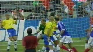 france vs brazil world cup 98 legends