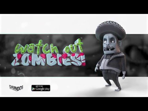 Watch out Zombies! - Official Launch Gameplay Trailer (Google play)