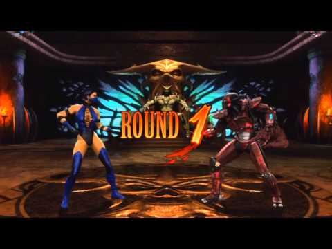 Mortal Kombat Deadly Alliance/Vs DC Universe - Kitana's Kiss Of Death On All Females from YouTube · Duration:  5 minutes 16 seconds