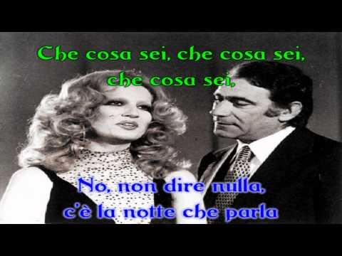 Sing-along karaoke - Parole, parole - Mina e Alberto Lupo