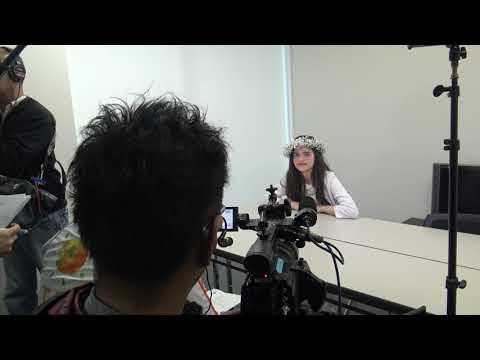 Angelina Jordan On Japanese TV