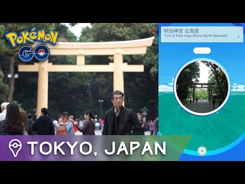 POKÉMON GO IN TOKYO: THE MOST BEAUTIFUL POKÉMON NEST EVER (Trainer Tips Japan Ep. 6)