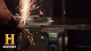 Forged in Fire: Forging Friction Folders (Season 5, Episode 4) | History
