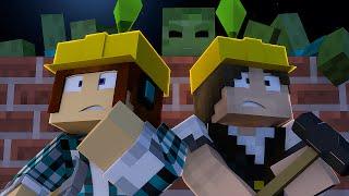 Minecraft : PROTEÇÃO DE ZUMBIS - The Sims Craft 2 #02