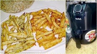 بطاطس في القلايه الهوائيه تيفال بدون زيت tefal airfryer xl