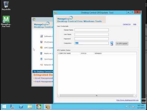 Desktop Administration Tools - Help Desk Course