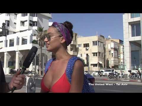 Israel Loves Trump -  Tel Aviv Interviews - The United West